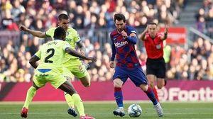 Messi đóng vai kiến tạo, Barca thắng nhọc Getafe