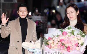 Hyun Bin - Son Ye Jin diện đồ đôi dự tiệc mừng công 'Hạ cánh nơi anh'