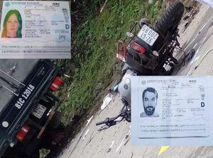 Va chạm với ô tô, hai người mang quốc tịch Đức tử vong