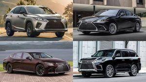 Mua xe sang Lexus, chọn mẫu xe nào phù hợp với nhu cầu và tài chính?