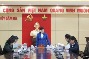 Đảng bộ huyện Đầm Hà sẵn sàng cho Đại hội Đảng bộ điểm của tỉnh Quảng Ninh