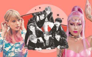 Ra MV cùng thời điểm, thành tích của BTS khiến Lady Gaga, Taylor Swift 'hít khói' cả nghìn cây số về lượt view