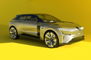 Renault Morphoz - xe điện biến hình với công nghệ chưa từng công bố