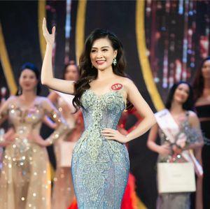 Thí sinh Hoa hậu Quý bà Hoàn vũ toàn cầu nói tiếng Anh lưu loát giới thiệu về quê hương