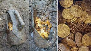Phát hiện 'kho báu' triệu đô bằng vàng ở Ý