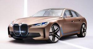 BMW Concept i4 EV: Lưới tản nhiệt lớn, sức mạnh hơn 530 mã lực