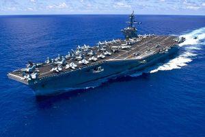 Sức mạnh không đối thủ của tàu sân bay lớp Nimitz tới Đà Nẵng