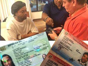 Vì sao Ronaldinho dùng hộ chiếu giả mang quốc tịch Paraguay?