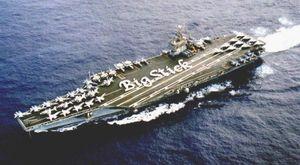 USS Theodore Roosevelt - tàu sân bay được bảo vệ tốt nhất thế giới