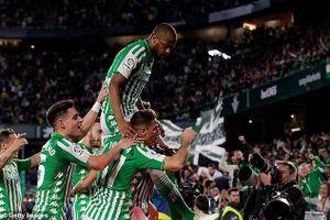 Real Betis 2-1 Real Madrid: HLV Zidane khóc hận vì Ramos