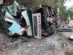 Tai nạn xe khách tại Lào, 6 hành khách người Việt thương vong