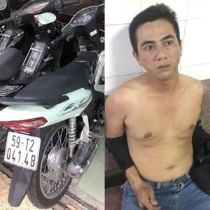 Bắt kẻ cướp giật tài sản ở trung tâm Sài Gòn