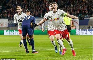 Thất bại trước Leipzig , Tottenham rời Champions League