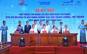 VietinBank giải ngân món vay đầu tiên vốn tín dụng dự án Trung Lương - Mỹ Thuận
