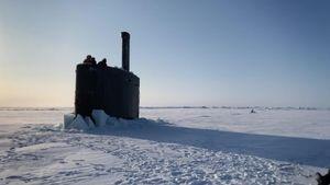 Mãn nhãn tàu ngầm hạt nhân của Mỹ 'vén màn' bí ẩn dưới lớp băng ở Bắc Cực