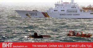 Dừng tìm kiếm tập trung 5 thuyền viên Việt mất tích tại Hàn Quốc