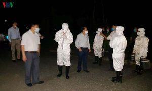 Người về từ Nhật Bản tại Nghệ An được đưa đi cách ly ngay trong đêm