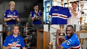 Ý: Thêm 4 cầu thủ Sampdoria và bác sĩ dương tính với COVID-19