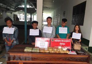 Kon Tum phối hợp với Lào bắt giữ vụ ma túy lớn ở vùng biên
