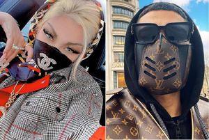 Dàn rich kid dùng khẩu trang Chanel, Louis Vuitton để phòng dịch