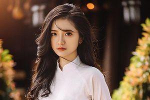 Nữ sinh Đắk Lắk gây thương nhớ cực mạnh trong bộ ảnh áo dài