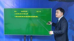 VTC mở lớp học trên truyền hình