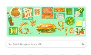 Biểu tượng bánh mì VN bất ngờ xuất hiện trên trang chủ Google