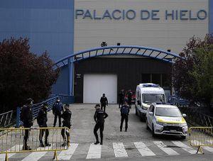 Trưng dụng sân băng làm nhà xác, Tây Ban Nha kêu gọi NATO hỗ trợ chống dịch Covid-19