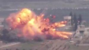 Thổ Nhĩ Kỳ lại bị tập kích ở Idlib, thiệt hại nặng