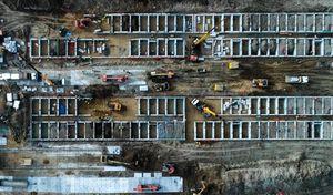 Nga gấp rút xây dựng bệnh viện dã chiến đối phó bệnh dịch