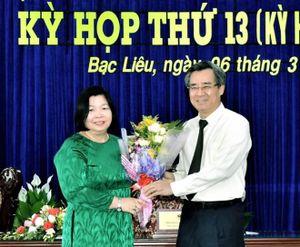 Phê chuẩn kết quả bầu, miễn nhiệm nhân sự tại tỉnh Bạc Liêu, Khánh Hòa