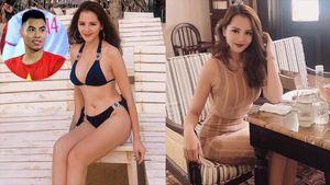 Bạn gái tin đồn của Đức Huy siêu nóng bỏng, giàu 'nứt đố đổ vách'