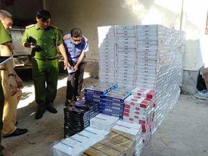 Phú Yên: Tạm giữ gần 19.000 bao thuốc lá không rõ nguồn gốc