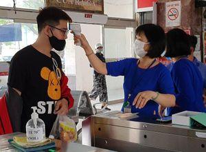 Quy trình nghiêm ngặt phòng COVID-19 tại ga Đà Nẵng