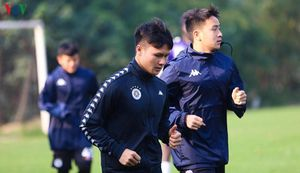 Hà Nội FC tạm dừng tập luyện để phòng chống dịch Covid-19