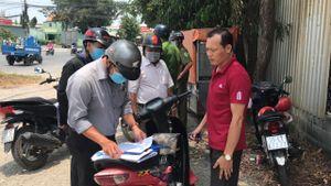 Huyện Củ Chi xử phạt 92 người dân không đeo khẩu trang nơi công cộng