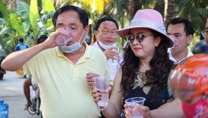 Quỹ từ thiện Hằng Hữu và Công ty CP Đại Nam: Hành trình đưa nước ngọt về với miền Tây