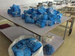 Bắc Giang tạm giữ hơn 5.000 chiếc khẩu trang y tế tại một xưởng gia công