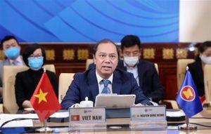ASEAN - Mỹ cam kết hỗ trợ lẫn nhau ứng phó với dịch Covid-19