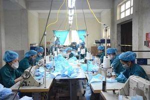 Chủ động sản xuất hàng hóa cấp thiết phòng, chống dịch