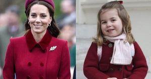 Style hoàng gia là thế nào, nhìn mối tương quan giữa mẹ con Công nương Kate – Công chúa Charlotte là rõ
