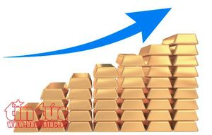 Giá vàng thế giới tăng mạnh trong phiên 2/4