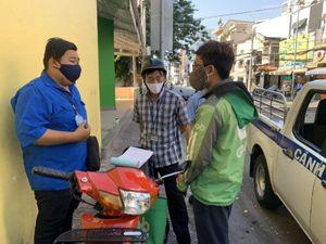 Quận Tân Bình: 8 trường hợp không đeo khẩu trang bị phạt
