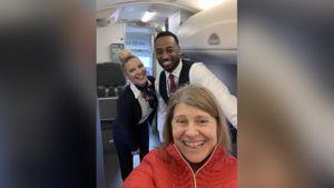 Phi hành đoàn bất ngờ khi phát hiện chỉ có một hành khách trên máy bay