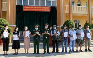 Hơn 460 người hoàn thành cách ly tập trung tại Trường Quân sự Quân đoàn 4