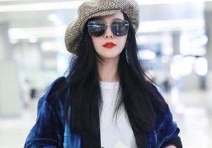 Phạm Băng Băng ăn mặc sang chảnh tại sân bay