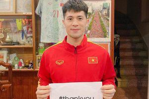 Cầu thủ Việt ủng hộ chiến dịch 'Xin cảm ơn' đẩy lùi Covid-19