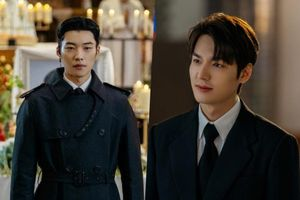 Lee Min Ho diện vest bảnh bao 'lấn át' trai đẹp cận vệ Woo Do Hwan