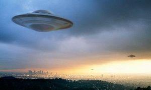 UFO như con tàu vũ trụ bay trong núi lửa ở Mexico?