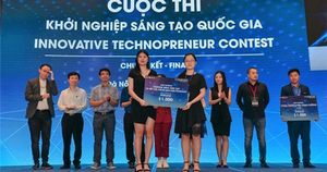 3 startup lọt danh sách gương mặt trẻ tuổi của châu Á